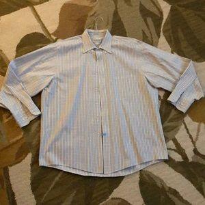 Men's dress shirt.  Dry cleaned only.